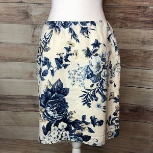 EUC Jones New York Country Skirt Sz 10